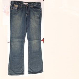 Fancy Collection Blue Jeans EMBROIDRED POCKETS